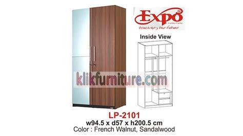Lemari Pakaian Minimalis 2pintu Sucitra Lp 1522 lp 2101 lemari 2 pintu cermin expo termurah