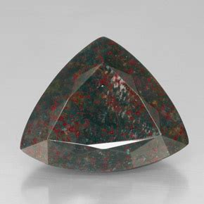 Ruby 21 7ct bloodstone 31 7ct trillion from madagascar and