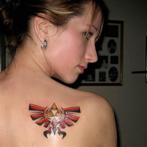 zelda tattoo girl girls mad about zelda tattoo final sense
