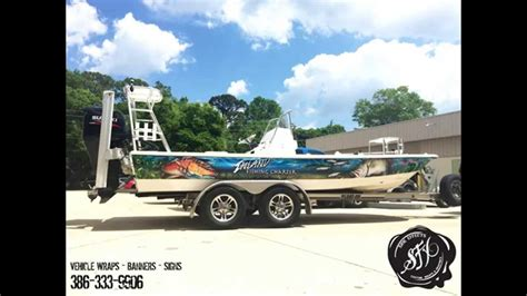 charter boat fishing videos boat wrap for inland fishing charter youtube