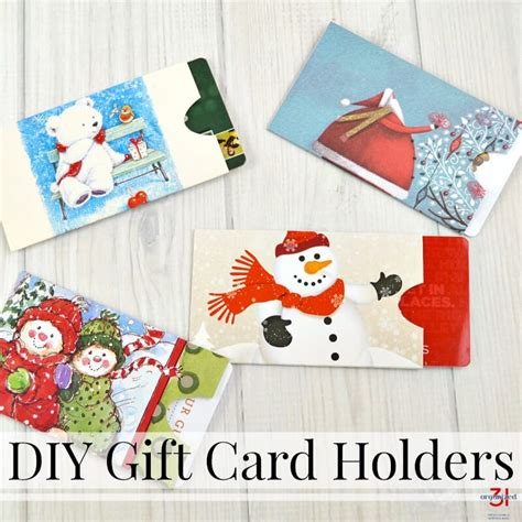 How To Make Gift Card Holders Out Of Paper - diy gift card holders made from repurposed cards