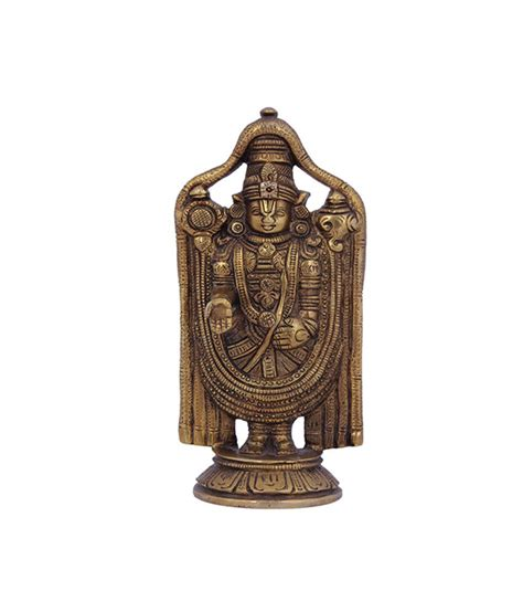 religious home decor crafts man brass statue lord balaji religious home decor