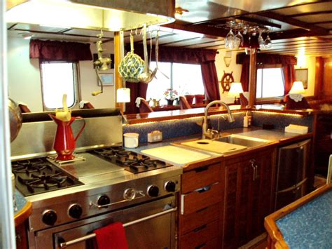 tugboat galley alaska pirate s pride yacht charter details converted