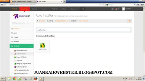 cara membuat website via hp cara membuat website chatting sendiri di idhostinger