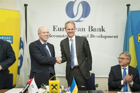 bank aval kiev ebrd to become 30 per cent shareholder in raiffeisen bank