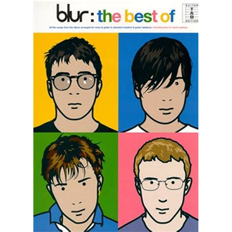 blur best of blur the best of guitar tab box the musical