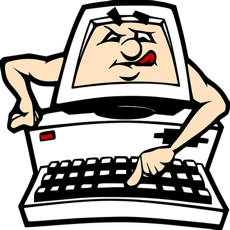 clipart pc free vector graphic computer pc keyboard
