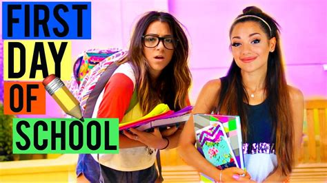 hairstyles for school niki and gabi what to expect on the first day of school back to school