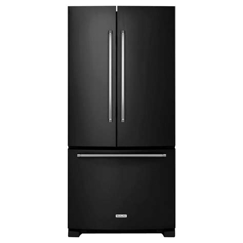 whirlpool 33 in w 21 6 cu ft side by side refrigerator in black wrs322fnae the home depot