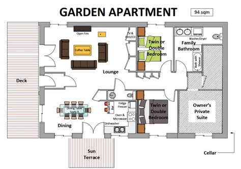Garden Apartment Floor Plans | chetre garden apartment meribel apartments