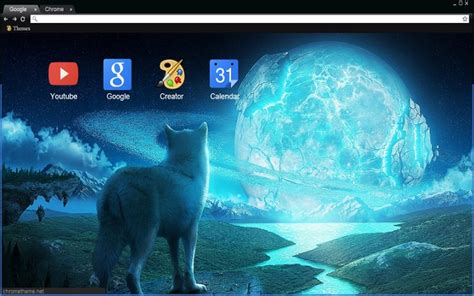 Wallpaper Google Chrome Wolf   wolf and the ice planet chrome web store