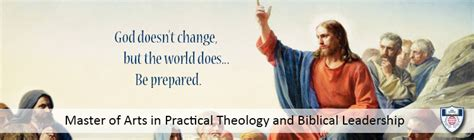 biblical leadership theology for the everyday leader biblical theology for the church books master of arts ma in practical theology and biblical