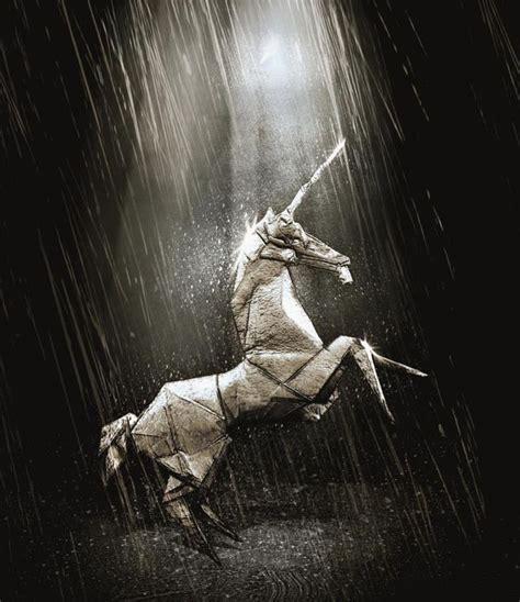 blade runner origami unicorn blade runner origami unicorn style upon style