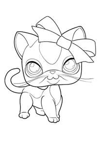 littlest pet shop coloring pages printable coloring