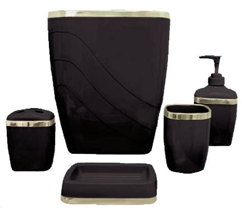 black bathroom accessory sets bathroom accessory sets archives lynnwoodplace