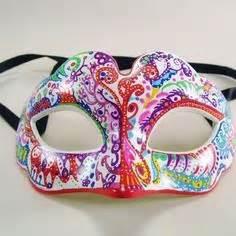 masques venitien loup tissu et plumes masque venitien