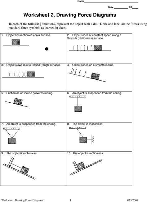 Free Diagram Worksheet With Answers