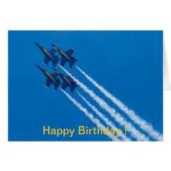 happy birthday card blue angels diamond zazzle