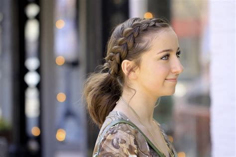 brooklyn and bailey qa cute girls hairstyles dutch accent ponytail short hairstyles cute girls