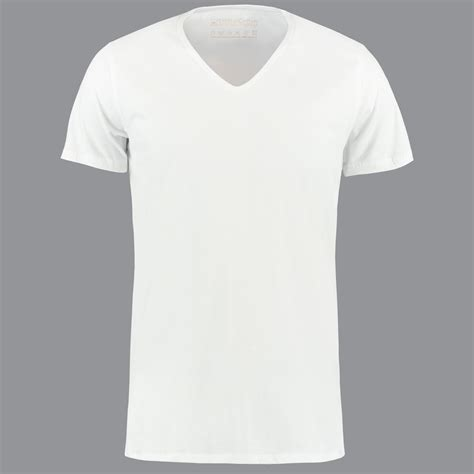 l shirt white v neck t shirt by shirtsofcotton