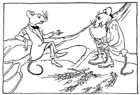 town mouse coloring page ressources 201 ducatives libres data abuledu org les