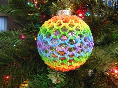 rubber band ornament cover 183 a bauble 183 other on cut out