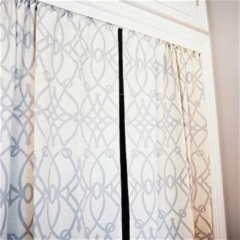Curtains In Place Of Closet Doors by Curtains In Place Of Closet Doors Design Ideas