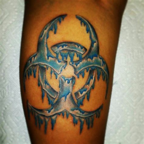 biohazard tattoo meaning covered biohazard tattoos