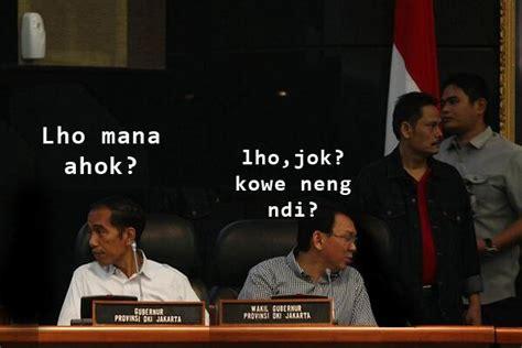 trending topic sosmed ini dia meme lucu jokowi dan ahok di media sosial tekno 187 harian jogja