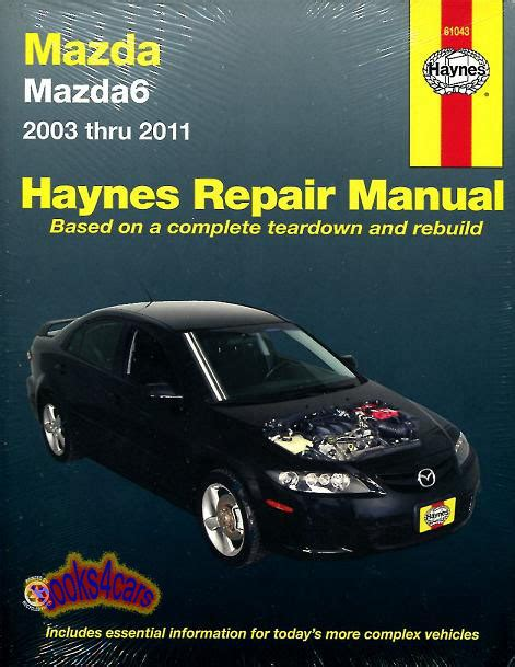 where to buy car manuals 1986 mazda b series electronic toll collection mazda6 shop manual service repair book mazda 6 haynes chilton guide workshop ebay