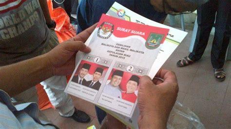 contoh surat suara sah pilkada 2015 28 images contoh surat suara