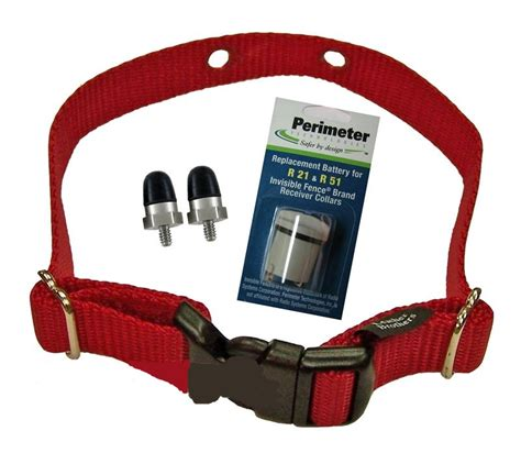 invisible fence collars invisible fence microlite fence comfort contact collar refreshment kit