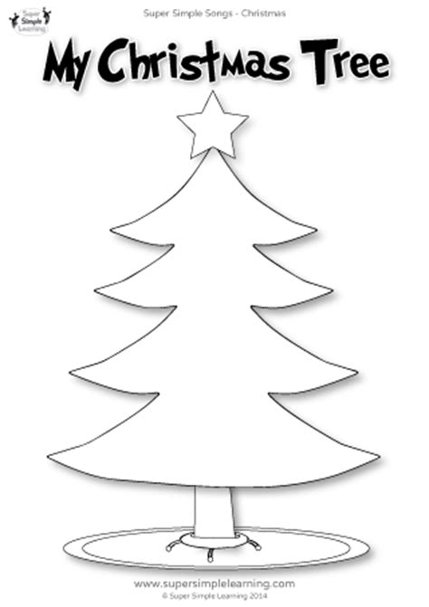 christmas tree worksheet festival collections