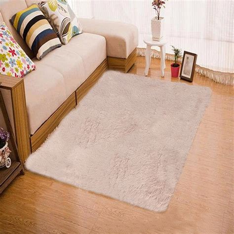 bedroom floor rugs shaggy fluffy rugs anti skid area rug dining room carpet home bedroom floor mat ebay