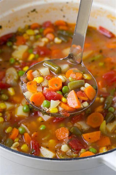 best of vegetable soup recipe best 25 crockpot vegetable soup ideas only on