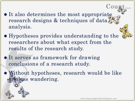how to write a hypothesis in a research paper research hypothesis