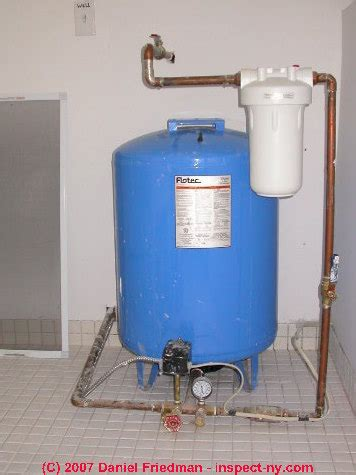 Water Tank For Well Pump Guide To Water Tank Problem Diagnosis