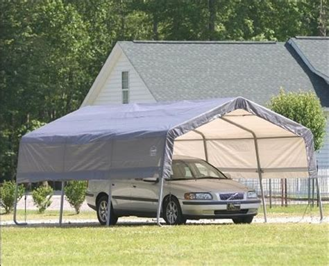 Temporary Car Port by Picture May Be Of Similar But Different Size