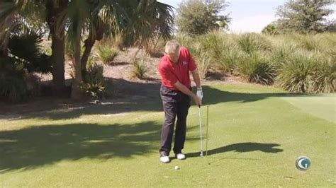 scooping golf swing anti scooping drill martin hall swing fix golf channel