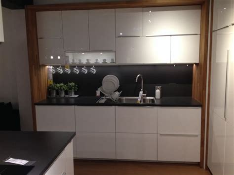 Ikea Kitchen Cabinets Ringhult Ikea Metod Kitchen With Worktop Framing Units Hausbau
