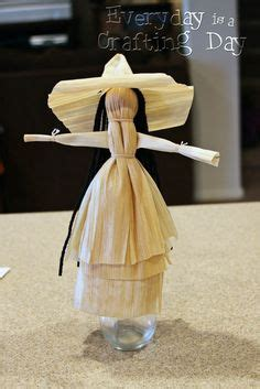 corn husk dolls freels craft witch on pentacle pagan and wicca