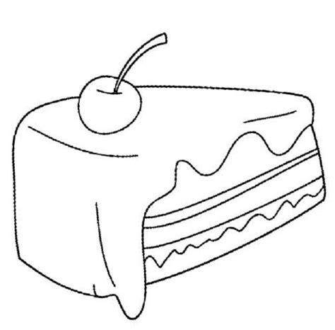 cake slice coloring page 73 best images about food on pinterest strawberry fruit