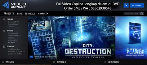 templates after effects video copilot jual tutorial after effect video copilot grosir tutorial