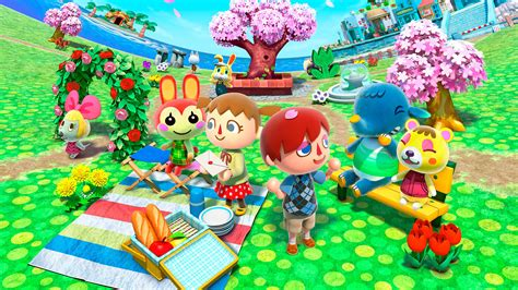animal crossing desktop wallpaper wallpapersafari