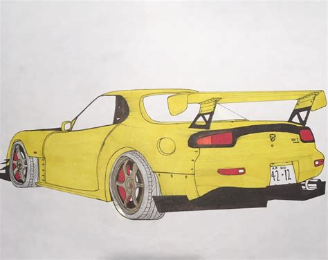 ricer rx7 search results for rx7 draw to drive