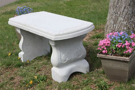how to make a concrete garden bench concrete garden bench best making 187 home decorations insight