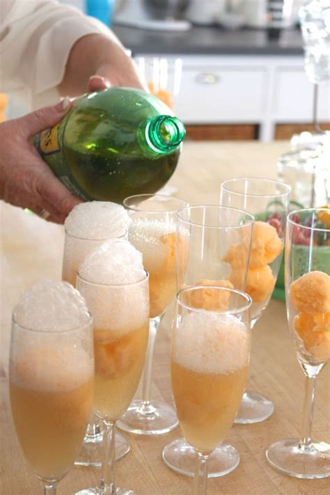 bridal shower punch recipes with sherbet orange sherbet with ale i scooped the sherbet the before and froze on a