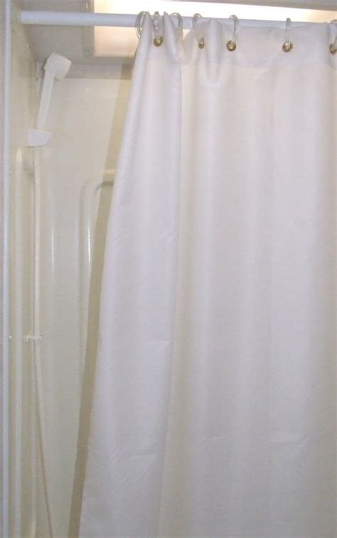rv shower curtains shower curtain special size for cers rvs travel