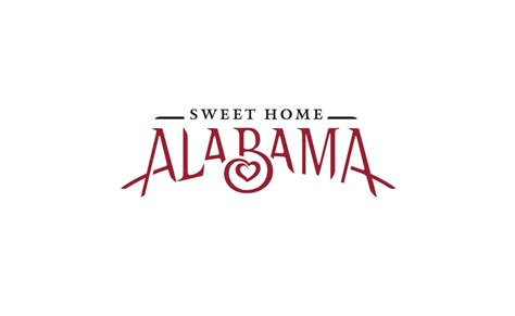 logo design for sweet home alabama bystudio