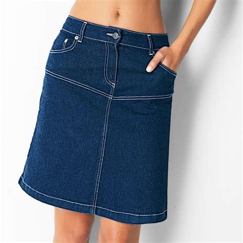 Jupe Jeanz jupe jean blancheporte